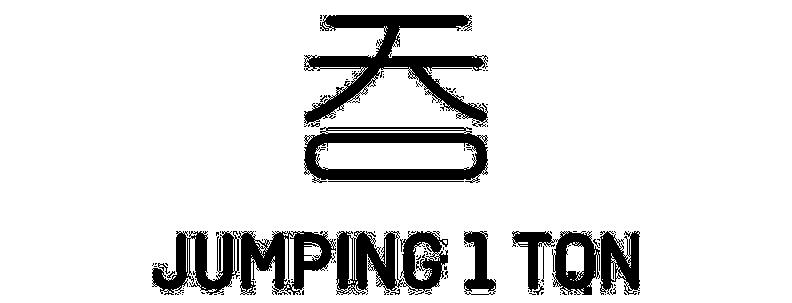 Jumping 1 Ton Logo