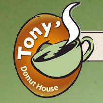 Tony's Donut House Logo