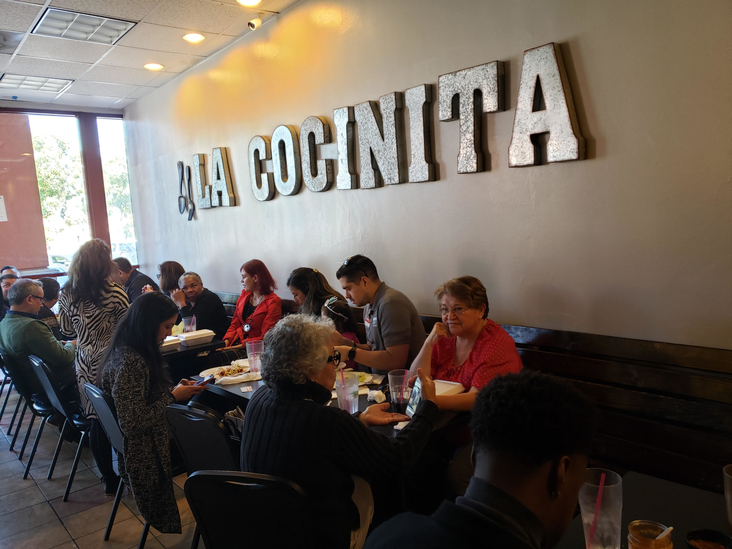 Members of the BPBA eating lunch at our event