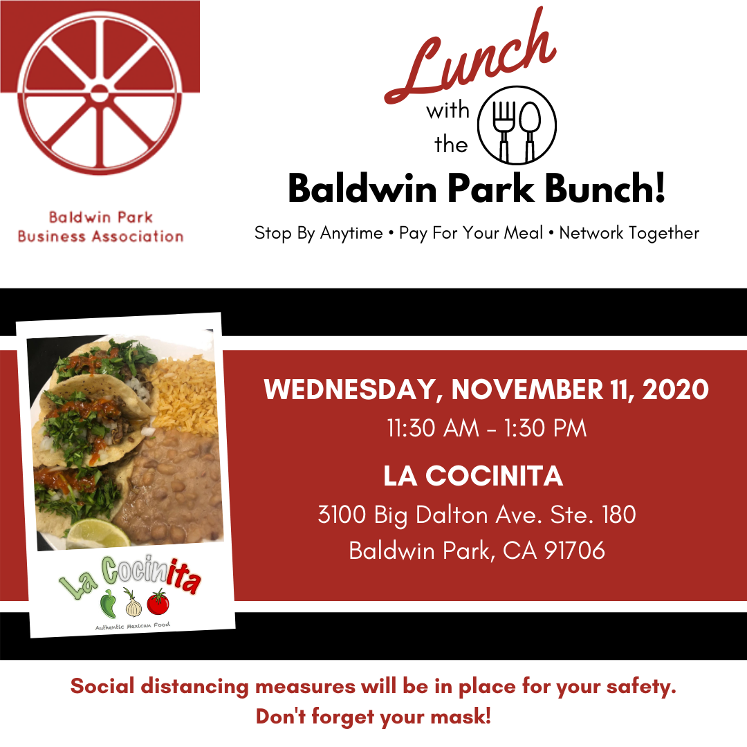 Nov 2020 Lunch with the BP Bunch Flyer