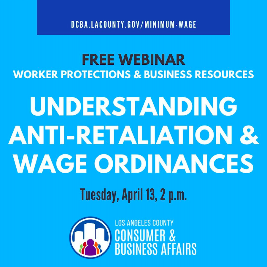 Understanding Anti-Retaliation & Wage Ordinances Webinar